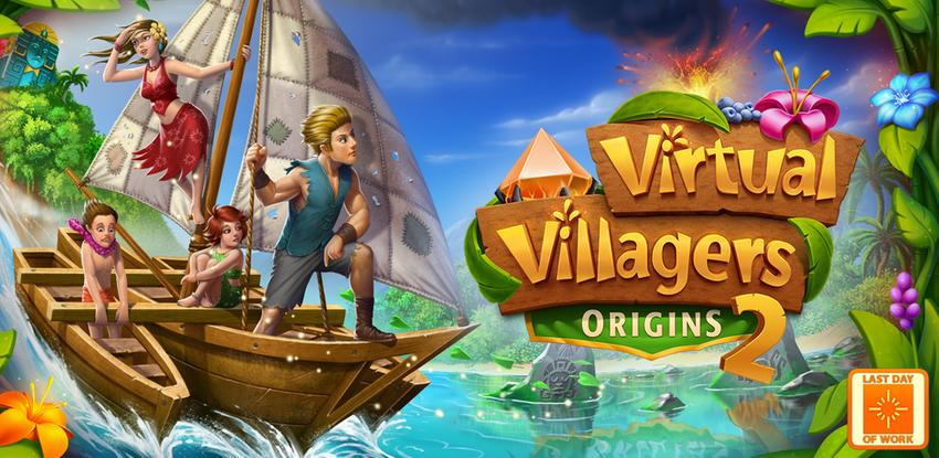 《Virtual Villagers Origins 2》 APK
