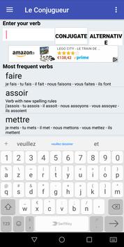 Le Conjugueur screenshot 3