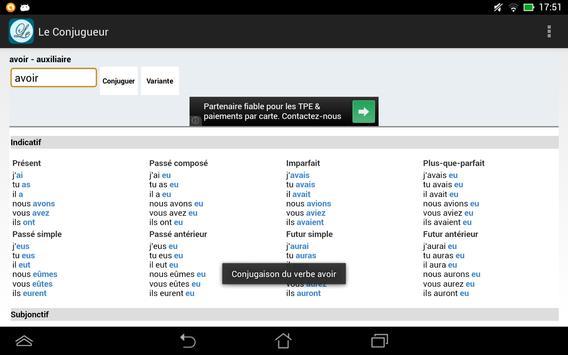 Le Conjugueur screenshot 13