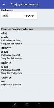 Le Conjugueur screenshot 2