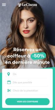 LeCiseau.fr : RDV en Salons de Coiffure à -50% poster