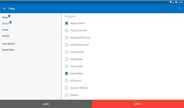 LS – Mobile Sales CRM & Lead Management System screenshot 10