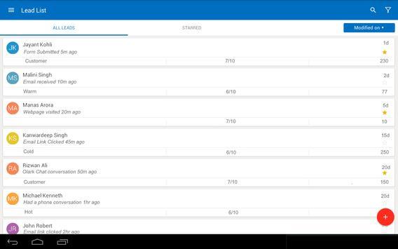 LS – Mobile Sales CRM & Lead Management System screenshot 9