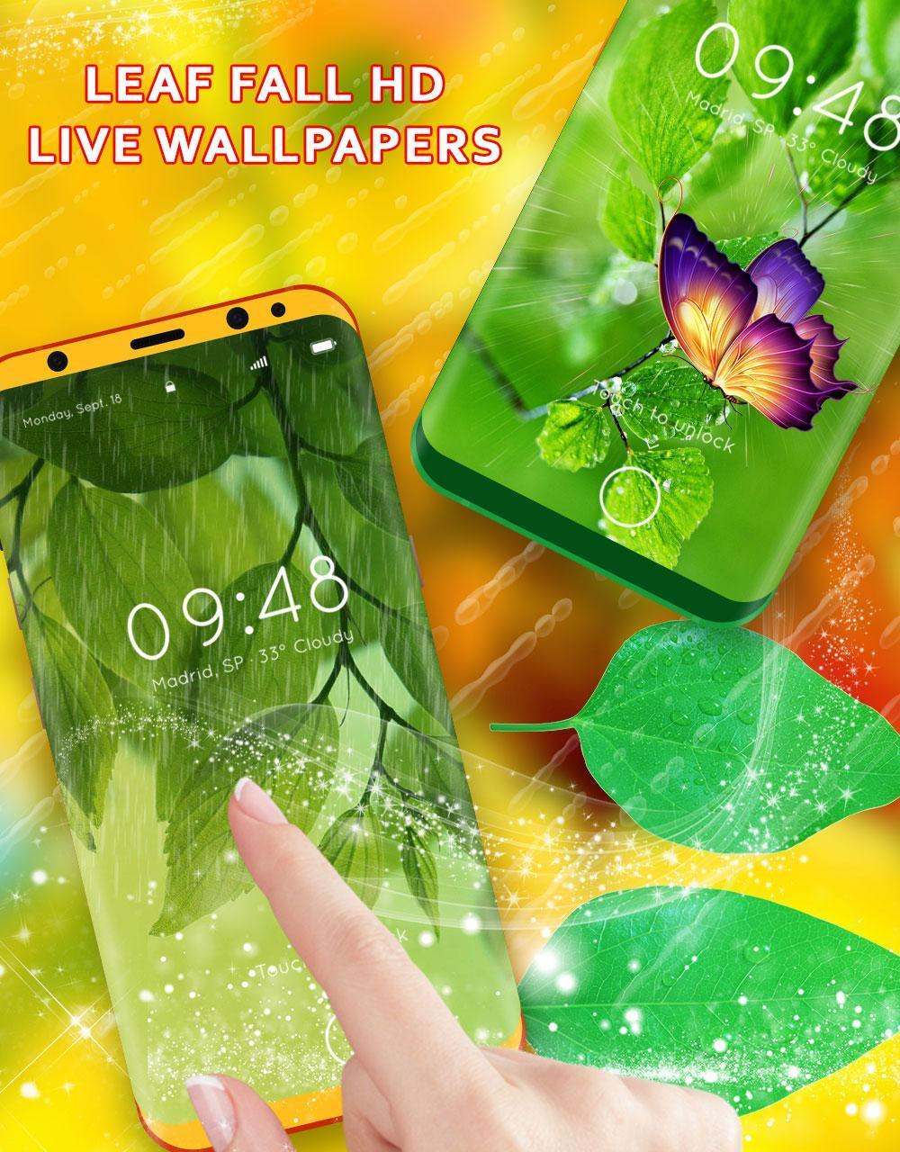 Leaf Live Wallpaper HD
