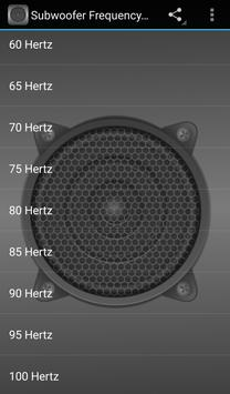 Subwoofer Frequency Test screenshot 1