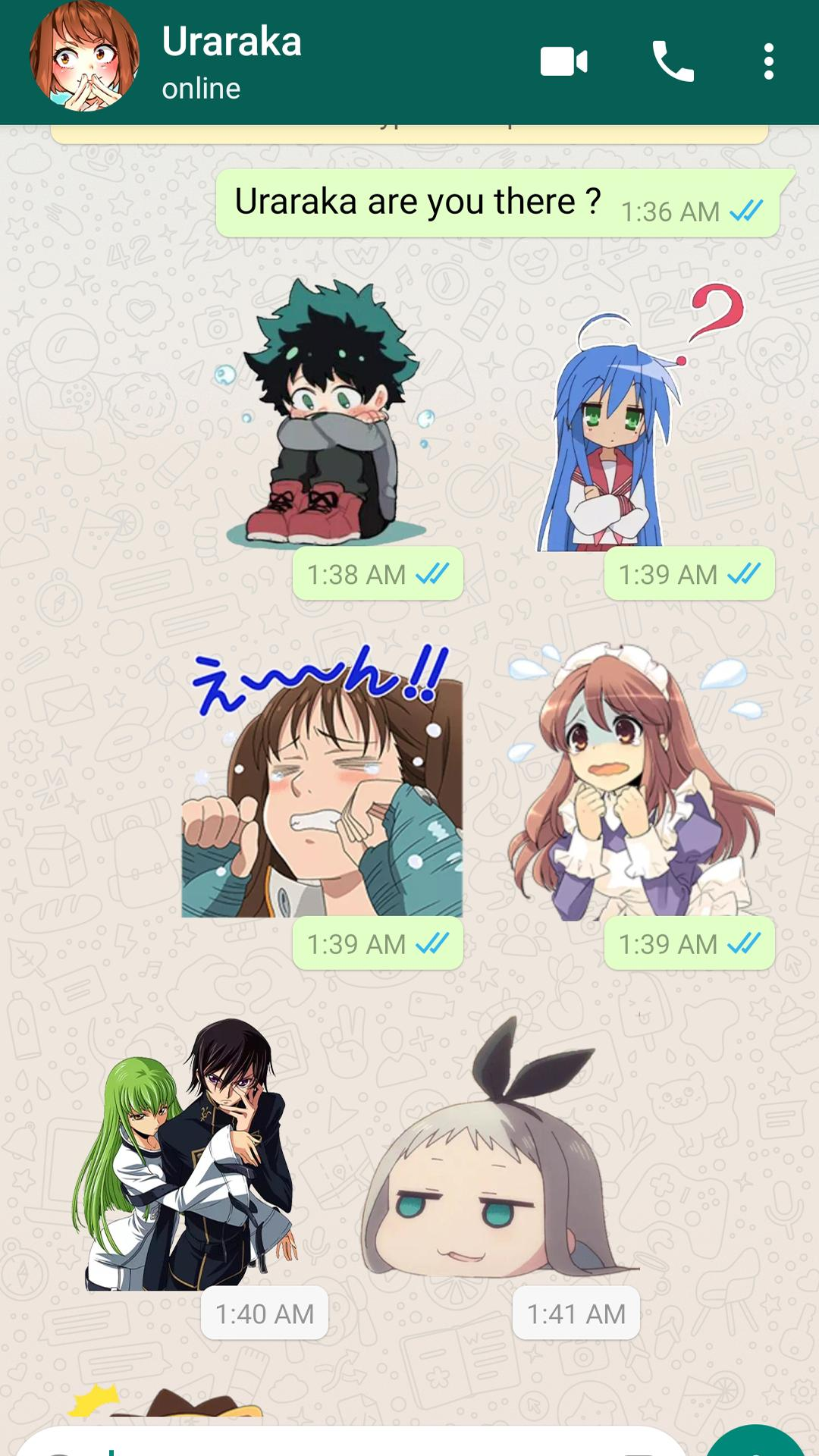 My Anime Stickers Wastickerapps For Whatsapp For Android Apk Download