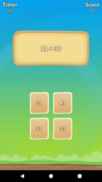 Math Duel Game: Play Together On The Same Phone screenshot 2