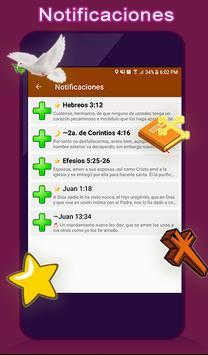 Santa Biblia Reina Valera + Español ảnh chụp màn hình 9
