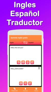 Translator : Spanish English & Learn English free poster