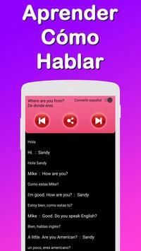 Translator : Spanish English & Learn English free screenshot 3