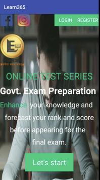 Learn365 Government Exam Preparation screenshot 1