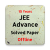 JEE Advanced Previous Year Solved Question Paper-icoon