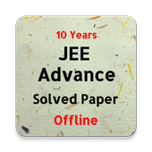 JEE Advanced Previous Year Solved Question Paper icon