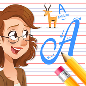 Kids Learn Cursive Writing - Cursive For Toddlers icon