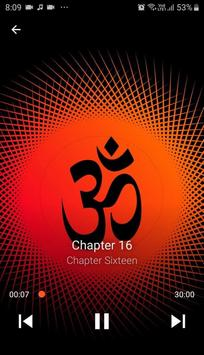 Bhagavad Gita in Marathi Audio poster