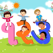 Gujarati For Kids - Read & Write Numbers 1-100 icon