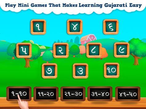 Gujarati For Kids - Read & Write Numbers 1-100 screenshot 3