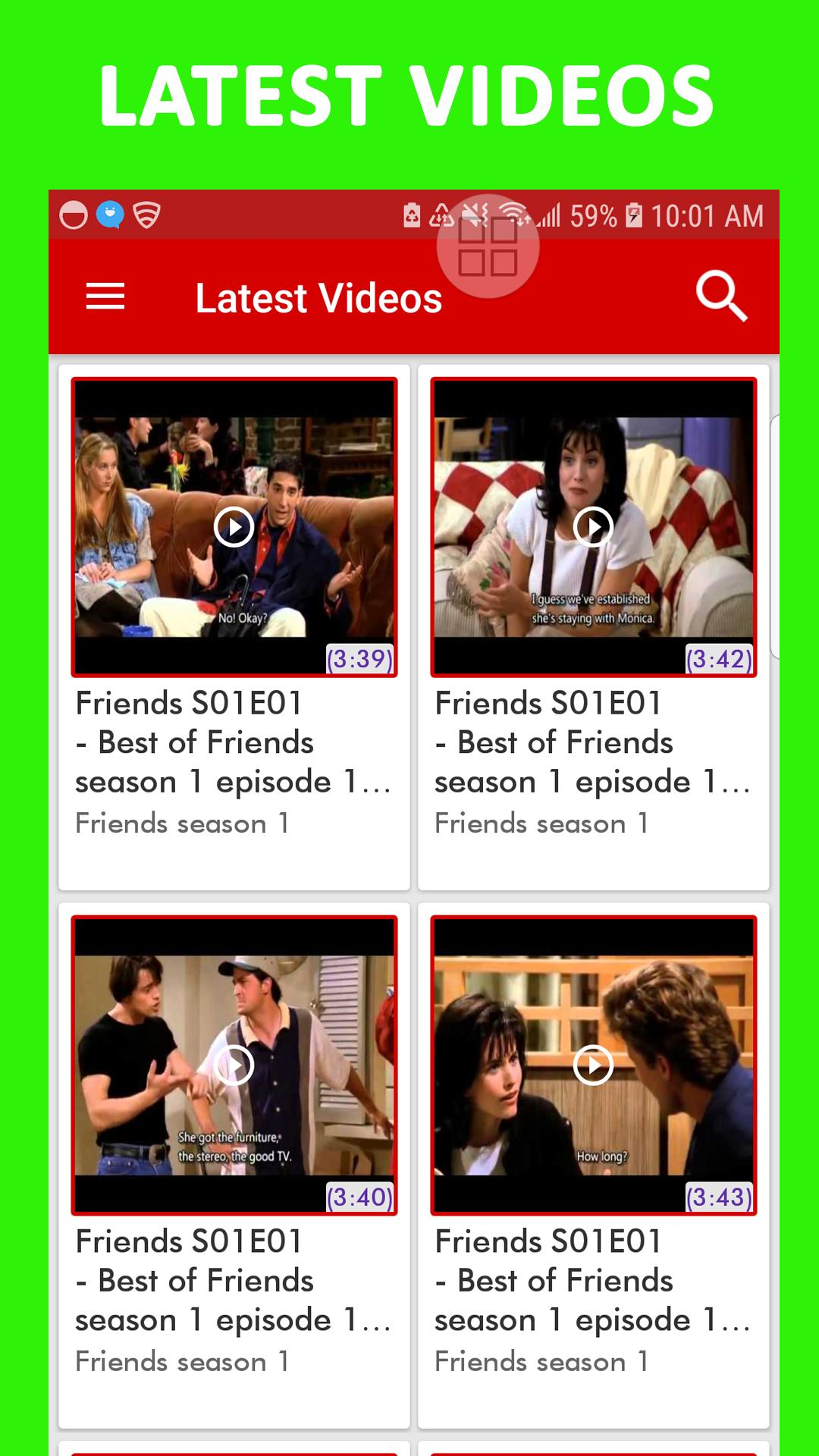 Friends Season 3 All Episodes Download