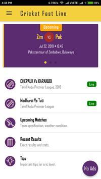 Cricket FastLine poster