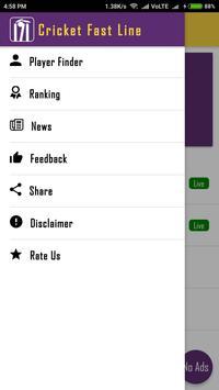 Cricket FastLine screenshot 1