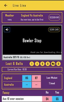 Cricket FastLine screenshot 2