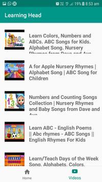 Learning Head The Kids App screenshot 3