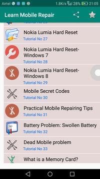 Learn Mobile Repair screenshot 1
