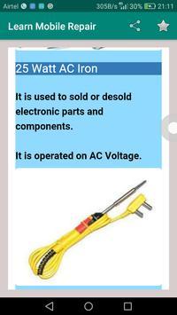 Learn Mobile Repair screenshot 2