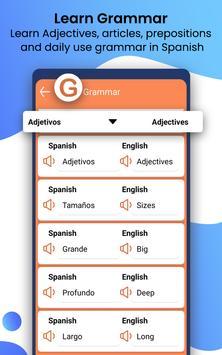 Learn Spanish Language by Fast Spanish Translator screenshot 13