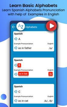 Learn Spanish Language by Fast Spanish Translator screenshot 20