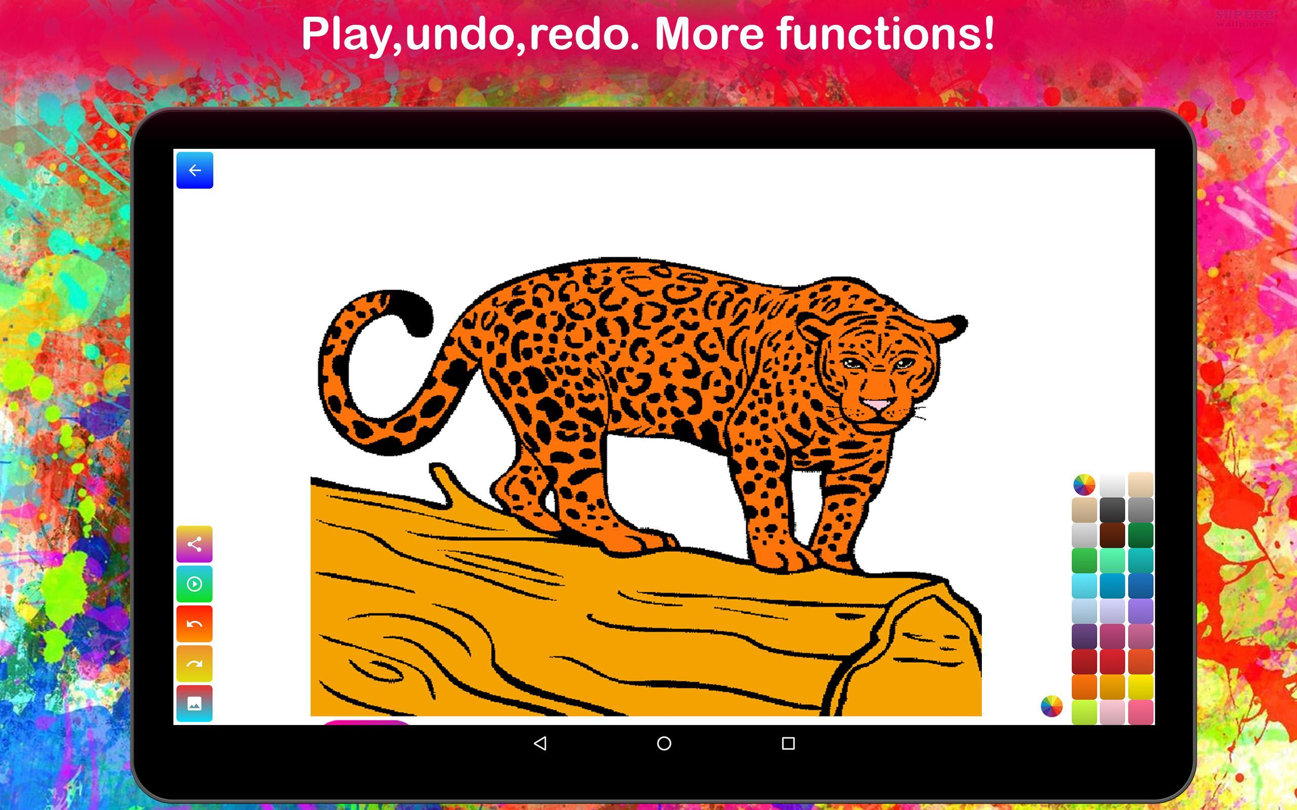 Wild Animal Coloring Pages Free Game For Kid For Android