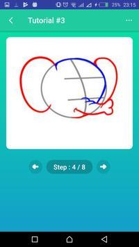 Learn to Draw Elephants screenshot 4