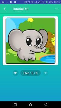 Learn to Draw Elephants screenshot 7