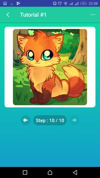 Learn to Draw Foxes screenshot 11