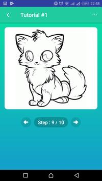 Learn to Draw Foxes screenshot 2
