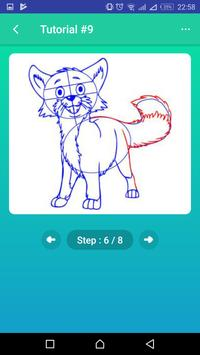 Learn to Draw Foxes screenshot 5