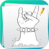 Learn to Draw Hands icon