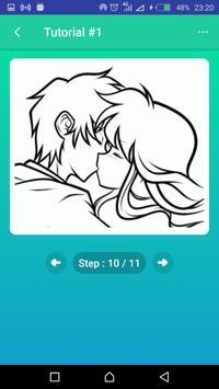 Learn to Draw Kissing screenshot 3