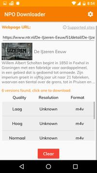 NPO/RTL Video Downloader screenshot 2
