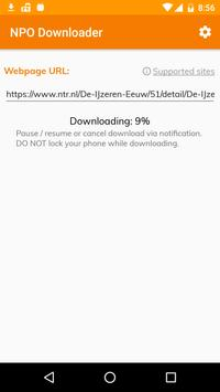 NPO/RTL Video Downloader screenshot 3