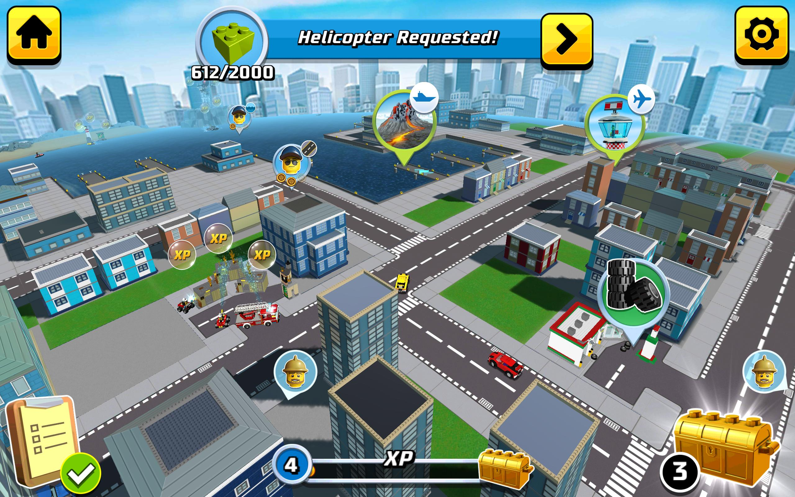 build lego city games free play