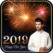 Happy new year 2019 / 2019 dp maker icon