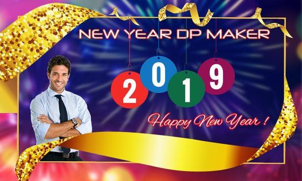 Happy new year 2019 / 2019 dp maker screenshot 2