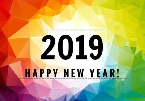 Happy new year 2019 / 2019 dp maker screenshot 3