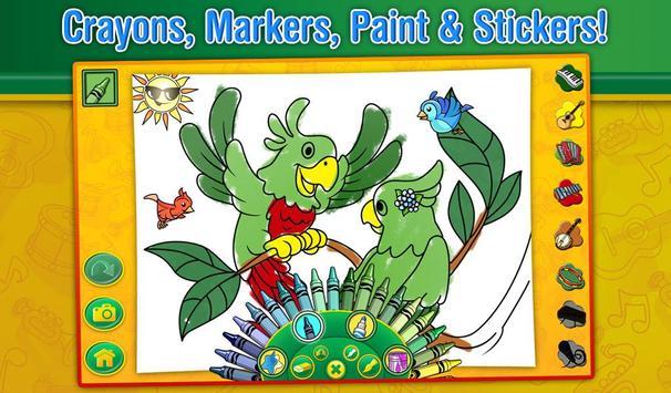 Crayola Color, Draw & Sing screenshot 3