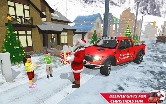 Santa Christmas Gift Delivery: Gift Game screenshot 3