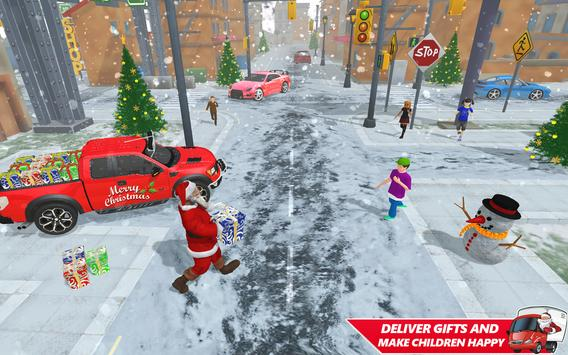 Santa Christmas Gift Delivery: Gift Game poster