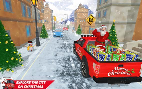 Santa Christmas Gift Delivery: Gift Game screenshot 1