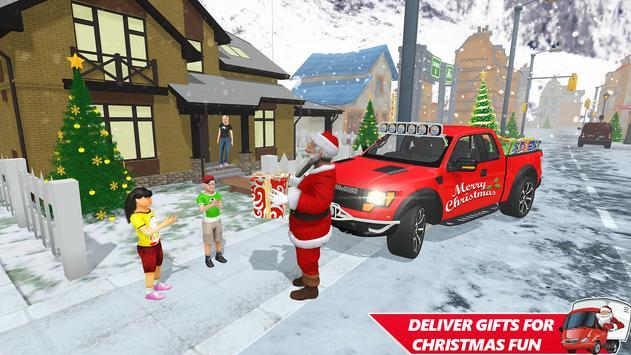 Santa Christmas Gift Delivery: Gift Game screenshot 8