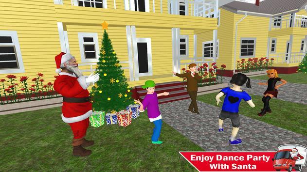 Santa Christmas Gift Delivery: Gift Game screenshot 9